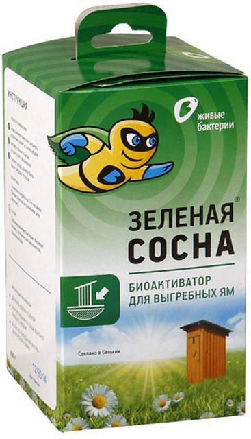 Одно из биологических средств для туалетов и выгребных ям