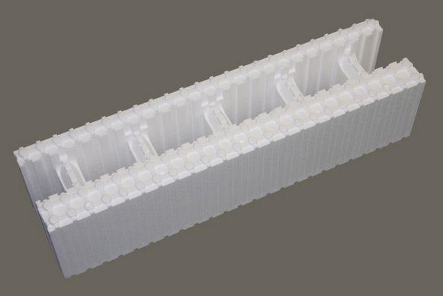 Полистирольные блоки для несъемной опалубки