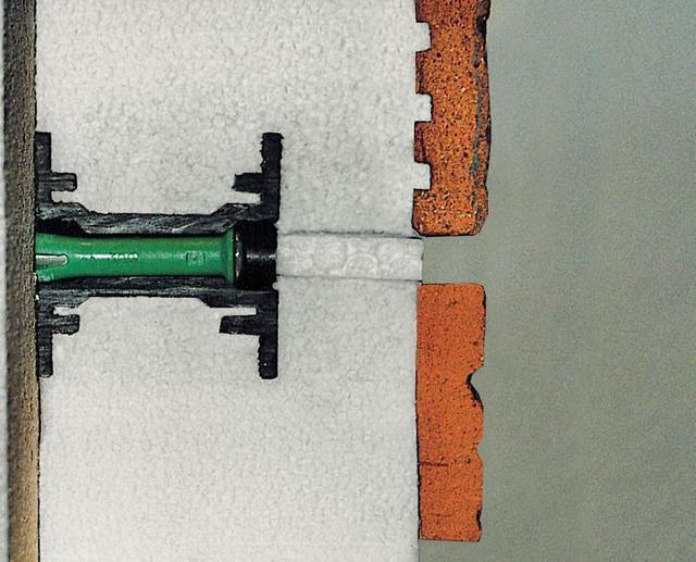 Крепление термопанели к стене