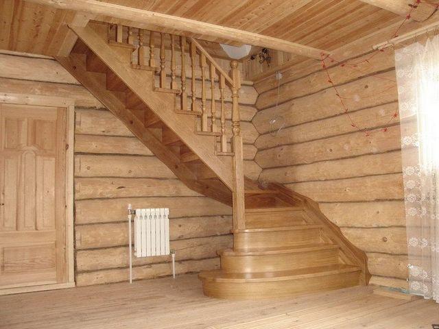 Самые распространенные - маршевые лестницы