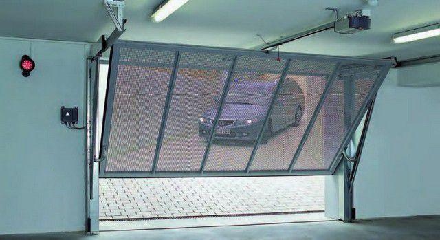 Подъемно-поворотные ворота - отличное решение для гаража