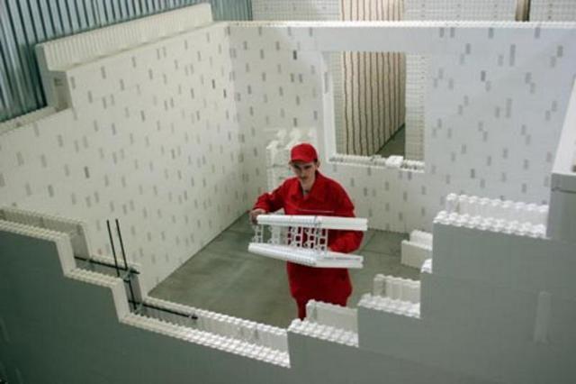 """Стены из несъемной опалубки собираются, как детский конструктор """"Лего"""""""