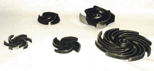 Колеса турбин бывают различной формы