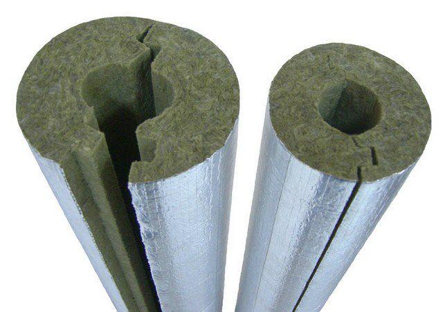Фольгированные полуцилиндры для термоизоляции труб