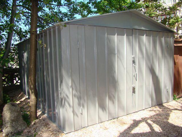 Металлический сборный гараж - потребует объемных утеплительных работ