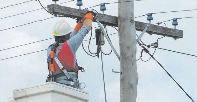 К работе на линиях электропередач допускаются только высококвалифицированные специалисты