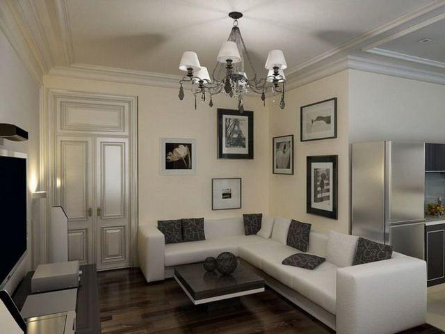 Люстра должна гармонировать с интерьером и размерами, и декоративным исполнением