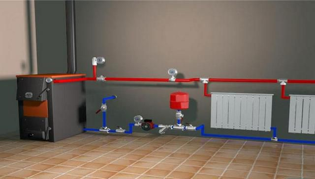 Аварийное отопление частного дома