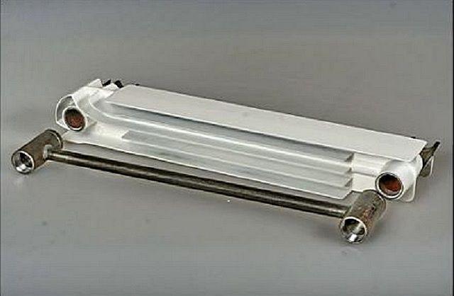 Внутреннее строение биметаллических радиаторов
