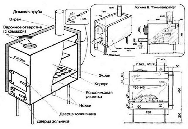 Базовый чертеж для ее изготовления
