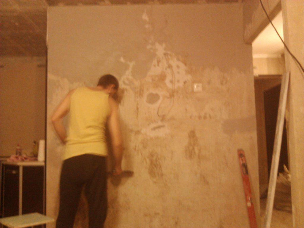 180Как выровнять стены в квартире своими руками видео под покраску
