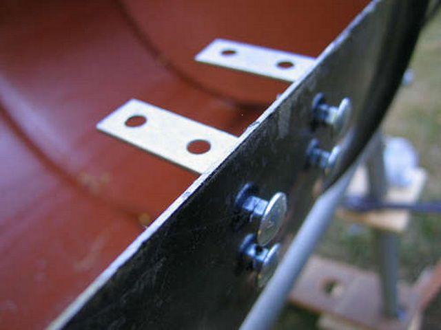 Кронштейны для укладки металлической сетки