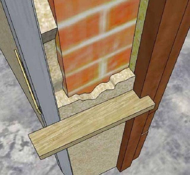 Для удобства разравнивания наброшенного слоя шпатлевки можно изготовить подобное мини-правило