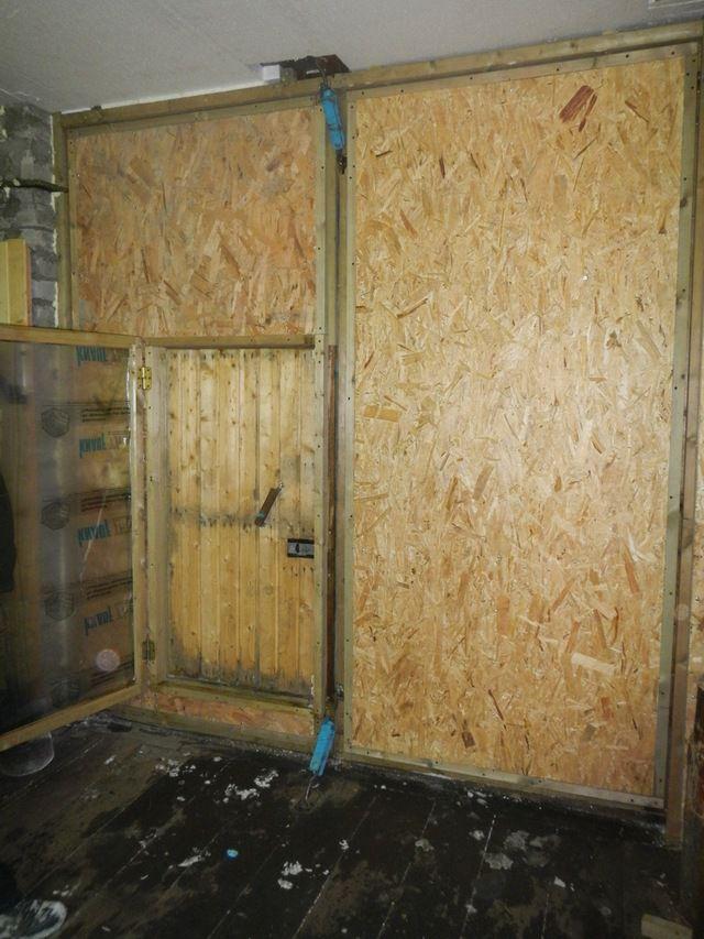 Утепленные и облицованные плитами ОСП гаражные ворота