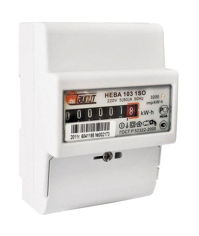 Электронный счетчик с электромеханическим отсчетным устройством