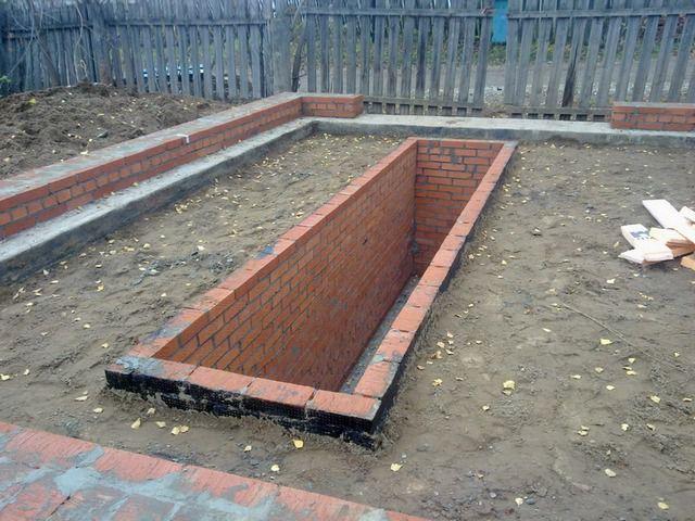Отсутствие стен облегчит земляные работы по обустройству смотровой ямы