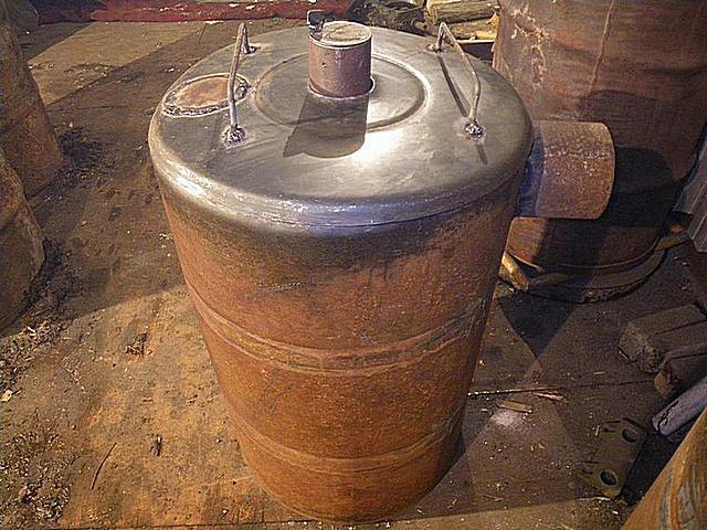 Бубафоня из стальной бочки готова