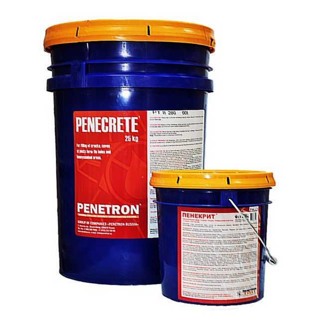 Сухая ремонтная гидроизоляционная  смесь «Пенекрит»
