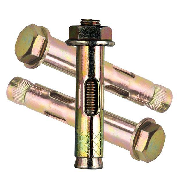 Анкеры помогут установить элементы ворот на кирпичное или бетонное основание