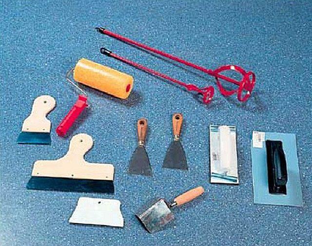 Основные инструменты для выполнения отделочных работ