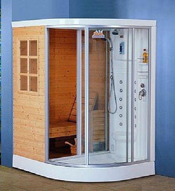 Такую модель мини-сауны можно разместить даже в самом небольшом помещении
