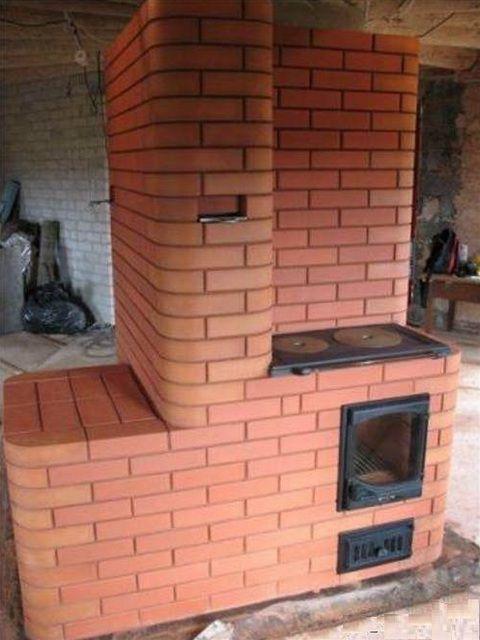 Отопительно-варочная печь - это многофункциональное массивное сооружение