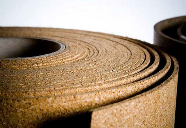Пробка - отличный натуральный материал для термоизоляции