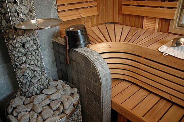 Домашняя сауна - отличное место для арома- и фитотерапевтичеких процедур