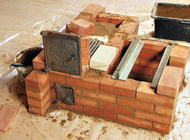 Металлические уголки станут хорошей опорой для духового шкафа