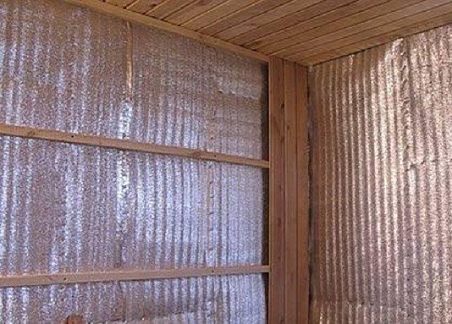 Облицовка утепленной стены вагонкой
