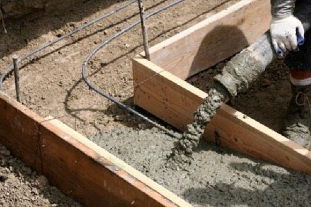 Оптимальные условия для заливки бетона - температура от 15 до 25 градусов