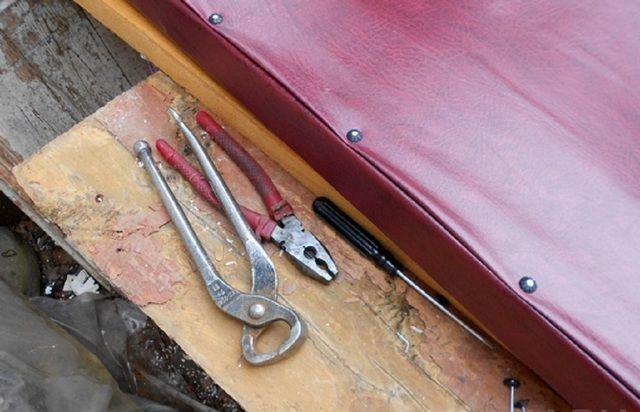 Перед началом работы необходимо подготовить нужные инструменты