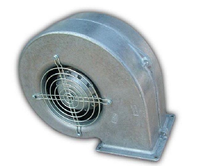 Центробежный вентилятор обеспечит поступление первичного и вторичного воздуха в камеры котла