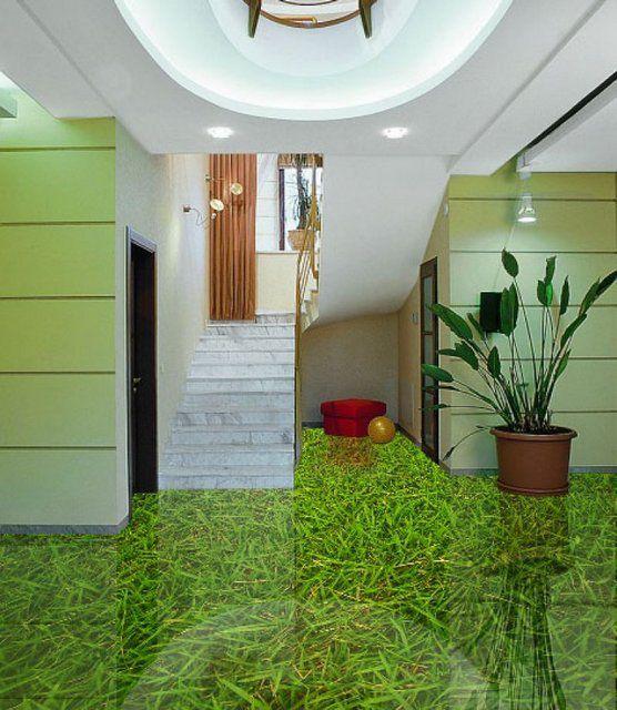 3D-полы полностью преображают интерьер помещения