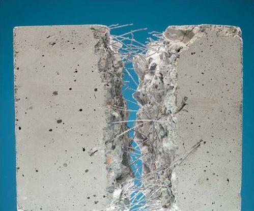 Фиброволокна создают внутреннюю армирующую структуру