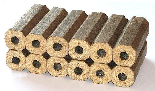 Продукт переработки отходов древесины - брикеты или {amp}quot;евродрова{amp}quot;