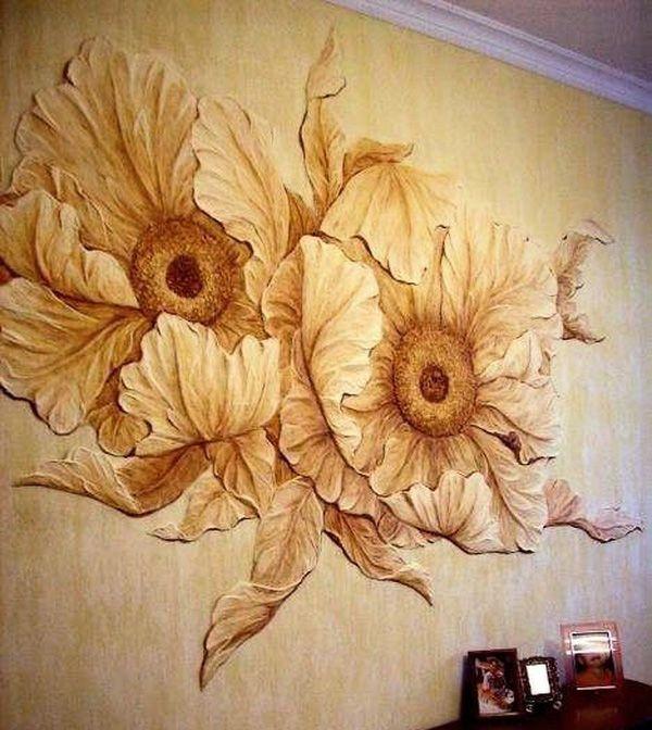 Как сделать барельеф своими руками на стене