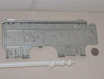 В месте установки внутреннего блока крепится монтажная пластина