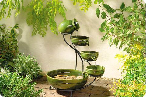 Декоративный фонтан для сада и дачи