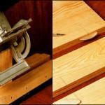 Еще один вариант изготовления дачного стола