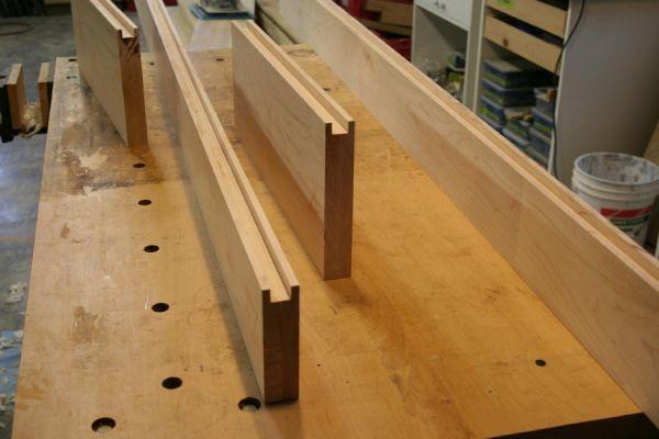 Изготовление деревянной двери