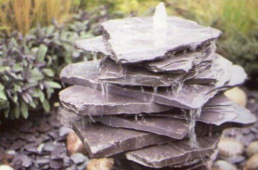 Изготовление каменного фонтана