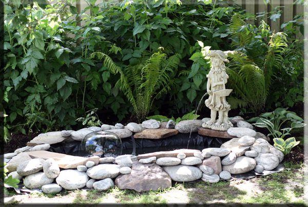 Изготовление фонтана из подручных материалов