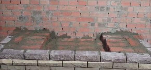 Кладка камина, пошаговая инструкция