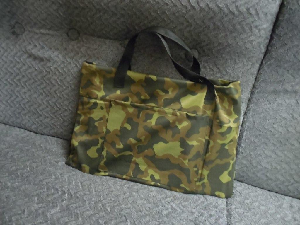 Мангал можно перевозить в удобной сумке