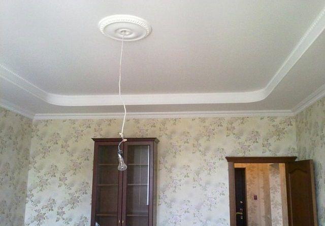 Как правильно зашпаклевать потолок 165