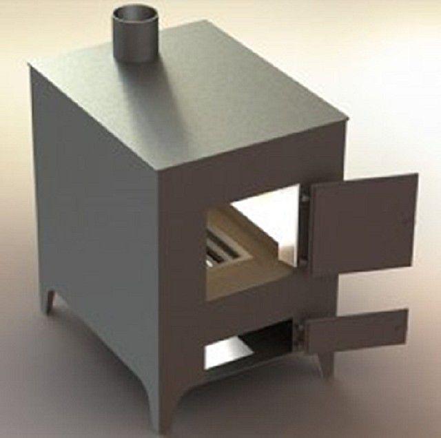 Эффективное решение сохранения тепла: снаружи - металл, внутри - кирпич