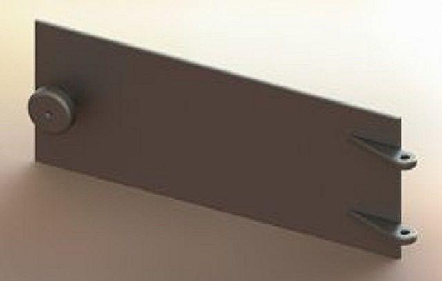 Дверца зольника-поддувала отличается, в принципе, только линейными размерами