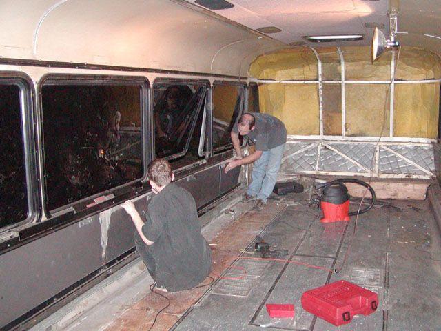 Расчищается кузов
