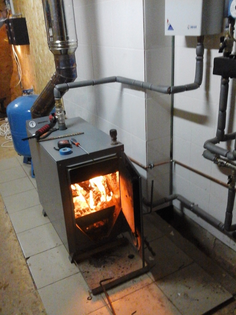 Твердотопливное отопление